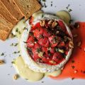 Baked Camembert with Roasted Strawberries