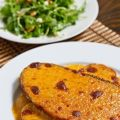 Welsh rarebit/dutch rarebit (brood met kaassaus)